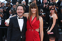 GUILLAUME GALLIENNE AND MARINA HANDS - RED CARPET OF THE CLOSING CEREMONY AT THE 70TH FESTIVAL OF CANNES 2017
