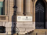 Bankgebäude, Avenue de la Libertè 19, Luxemburg-City, Luxemburg, Europa<br /> bank building, Avenue de la Libertè 19,  Luxembourg City, Europe