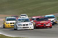 Round 1 of the 2007 British Touring Car Championship. #45 Jim Pocklington (GBR). J Team Motorsport with Tech Tuning. BMW E46 320i.