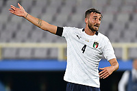 Bryan Cristante of Italy reacts during the friendly football match between Italy and Moldova at Artemio Franchi Stadium in Firenze (Italy), October, 7th 2020. Photo Andrea Staccioli/ Insidefoto