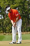 PALM BEACH GARDENS, FL. - Y.E. Yang during final round play at the 2009 Honda Classic - PGA National Resort and Spa in Palm Beach Gardens, FL. on March 8, 2009.