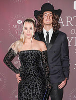 Gabby Barrett, Cade Foehner attend the 2021 CMT Artist of the Year on October 13, 2021 in Nashville, Tennessee. Photo: Ed Rode/imageSPACE/MediaPunch
