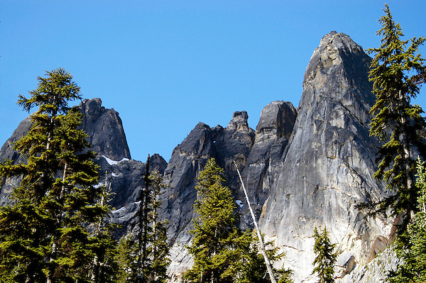 Spires on Granite, North Cascades National Park. Marc Caryl Nature and Landscape Photos.