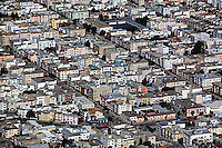 aerial photograph residential neighborhood San Francisco California