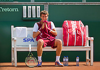 Netherlands, The Hague, Juli 26, 2015, Tennis,  Sport1 Open, Andrey Kuznetsov (RUS)<br /> Photo: Tennisimages/Henk Koster