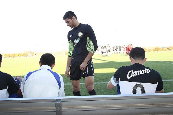 DALLAS, TX - MARCH 27:  Alianza DE Futbol v FC Dallas Premier during he Dr Pepper Dallas Cup at the University of Texas Dallas  in Dallas, TX  on March 27, 2013. (©2013 Rick Yeatts)
