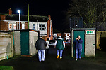 Blyth fans leave Croft Park. Blyth Spartans v Brackley Town, 30112019. Croft Park, National League North. Photo by Paul Thompson.