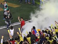 BOGOTA -COLOMBIA. 23-05-2014. Despedida a seleccion Colombia en el estadio Nemesio Camacho El Campin.Farewell to selection Colombia on Stadium Nemesio Camacho El Campin.   Photo: VizzorImage/ Felipe Caicedo / Staff