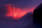 Erupting continuously for over 20 years, Kilauea is the world's most active volcano