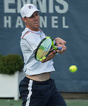 July 22,2016:   Sam Querrey (USA) loses to Gael Monfils (FRA) 6-4, 3-6, 6-1, at the Citi Open being played at Rock Creek Park Tennis Center in Washington, DC, .  ©Leslie Billman/Tennisclix