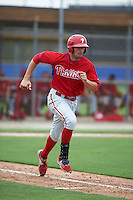 Philadelphia Phillies Brendon Hayden (43) during an instructional league game against the Toronto Blue Jays on September 28, 2015 at Englebert Complex in Dunedin, Florida.  (Mike Janes/Four Seam Images)