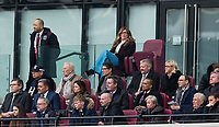 West Ham co Owner Karren Brady during the EPL - Premier League match between West Ham United and Southampton at the Olympic Park, London, England on 31 March 2018. Photo by Andy Rowland.