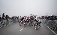 elite men's race start<br /> <br /> CX Superprestige Noordzeecross <br /> Middelkerke / Belgium 2017
