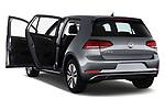 Car images close up view of a 2017 Volkswagen E-Golf SE 5 Door Hatchback doors