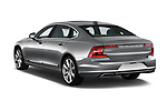 Car pictures of rear three quarter view of a 2019 Volvo S90 T6 Inscription 4 Door Sedan angular rear