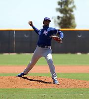 Marc Church - Texas Rangers 2021 extended spring training (Bill Mitchell)