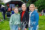Enjoying the Anseo open air concert in Pearse Park on Saturday, l to r: Ava Bartlett (Firies), Louise Heenan (Killarney) and Susan Bartlett (Firies).