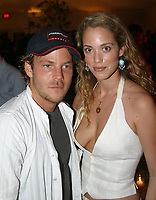 Miami Beach, FL 12-5-2002<br /> Stephen Dorff and Elizabeth Berkeley at a party in Miami's Design District for Art Basel.<br /> Photo By Adam Scull/PHOTOlink