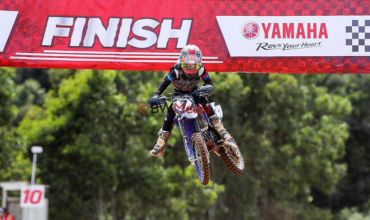 Richard Spencer, Yamaha. New Zealand Motocross Age Group Nationals, TECT All Terrain Park, Bay of Plenty, Saturday 6 February 2021. Photo: Simon Watts/www.bwmedia.co.nz