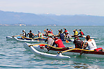 Waka Ama Festival, Tahunanui Beach, Nelson, 10 November 2012<br /> Photo: Marc Palmano/shuttersport.co.nz