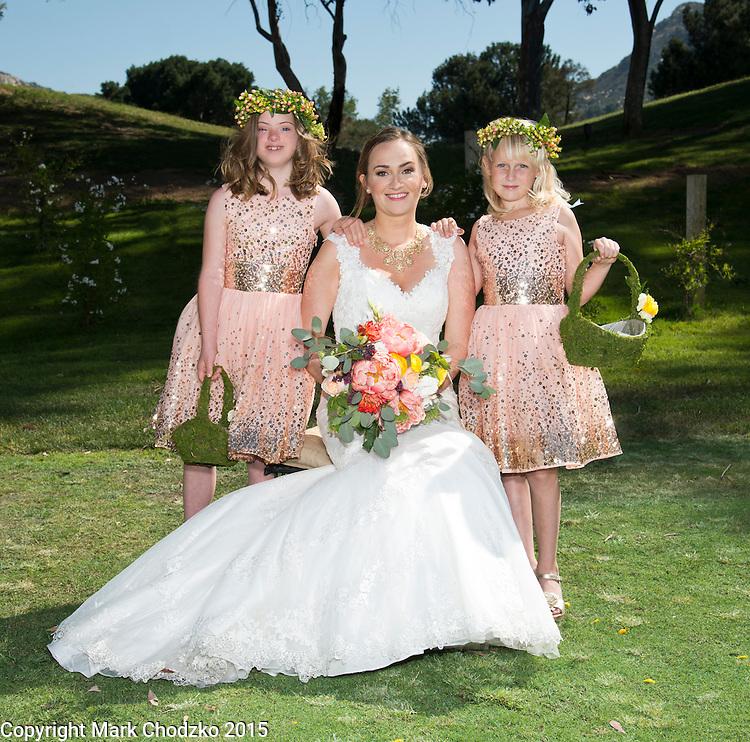 Lauren and her Flower Girls.