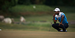 Chikkarangappa S. of India in action during the Venetian Macao Open 2016 at the Macau Golf and Country Club on 16 October 2016 in Macau, China. Photo by Marcio Machado / Power Sport Images