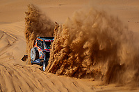4th January 2021; Dakar Rally stage 2;  426 Knight Graham (gbr), Watson David (gbr), Polaris, Xtremeplus Polaris Factory Team, Motul, SSV Series - T4, action during the 2nd stage of the Dakar 2021 between Bisha and Wadi Al Dawasir, in Saudi Arabia on January 4, 2021