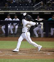 Canaan Smith-Njigba - Peoria Javelinas - 2021 Arizona Fall League (Bill Mitchell)