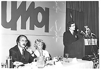Le ministre <br /> Guy Tardif au congres de l'UMQ, le 28 mars 1978<br /> PHOTO : JJ Raudsepp  - Agence Quebec presse