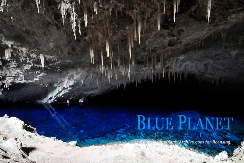 Lake at Blue Grotto, Bonito, Mato Grosso do Sul, Brazil