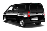 Car pictures of rear three quarter view of 2020 Citroen Berlingo - 4 Door Car Van Angular Rear