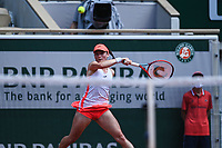 8th June 2021; Roland Garros, Paris France; French Open tennis championships day 10;  Tamara Zidansek ( SLO ) -