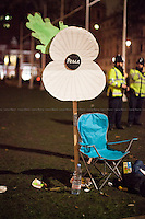 """02.12.2015 - """"Protest & Die In: Don't vote for war"""" - The Long Evening of Parliament Square"""