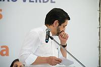 SÃO PAULO, SP, 05.06.2021- POLITICA-SP - Prefeito de São Paulo Ricardo Nunes discursa  sem máscara em Inauguração do Centro de Inovação Verde Bruno Covas - Hub Green Sampa e Teia Green Sampa, na cidade de São Paulo Bairro de Pinheiros zona sul , neste Sábado, 05. (Foto: André Ribeiro/Brazil Photo Press)