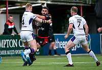 Will Lovell of London Broncos during the Betfred Championship match between London Broncos and Newcastle Thunder at The Rock, Rosslyn Park, London, England on 9 May 2021. Photo by Liam McAvoy.