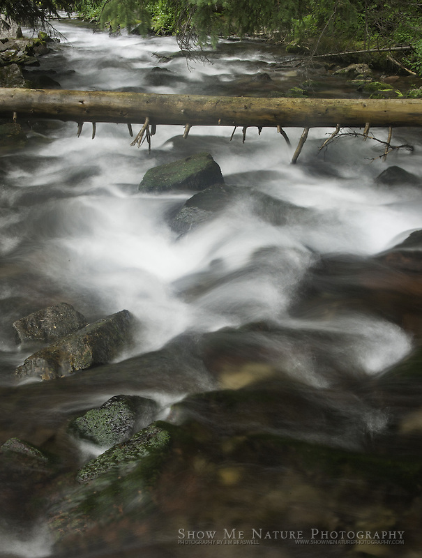 Maroon Creek, captured at a slow shutter speed