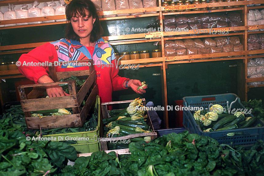 Negozio biologico. Organic shop....