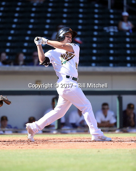 Tyler Ramirez - Mesa Solar Sox - 2017 Arizona Fall League (Bill Mitchell)