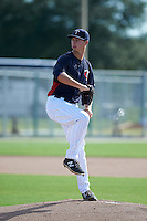 Minnesota Twins pitcher Stephen Gonsalves (78) during an instructional league game against the Boston Red Sox on September 26, 2015 at CenturyLink Sports Complex in Fort Myers, Florida.  (Mike Janes/Four Seam Images)
