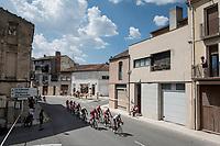 the breakaway group<br /> <br /> Stage 8: Valls to Igualada (167km)<br /> La Vuelta 2019<br /> <br /> ©kramon