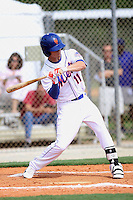 Carl Chester, #11 of Melbourne Central Catholic High School, FL for the Orlando Scorpions Mets Scout Team during the WWBA World Championship 2013 at the Roger Dean Complex on October 25, 2013 in Jupiter, Florida. (Stacy Jo Grant/Four Seam Images)