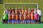 Tauranga team photo. 2021 National Women's Under-18 Hockey Tournament at National Hockey Stadium in Wellington, New Zealand on Sunday, 11 July 2021. Photo: Dave Lintott / lintottphoto.co.nz https://bwmedia.photoshelter.com/gallery-collection/Under-18-Hockey-Nationals-2021/C0000T49v1kln8qk