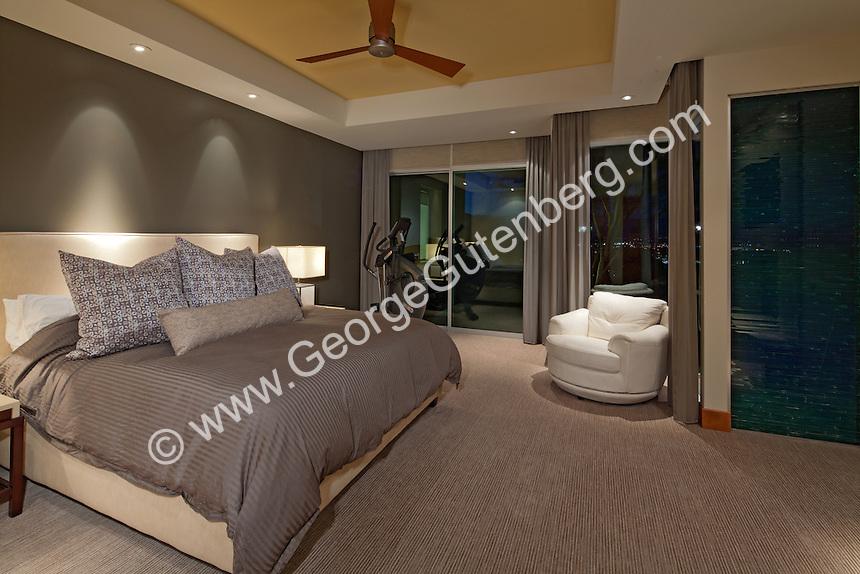 Stock photo of bedroom Stock photo of modern master bedroom