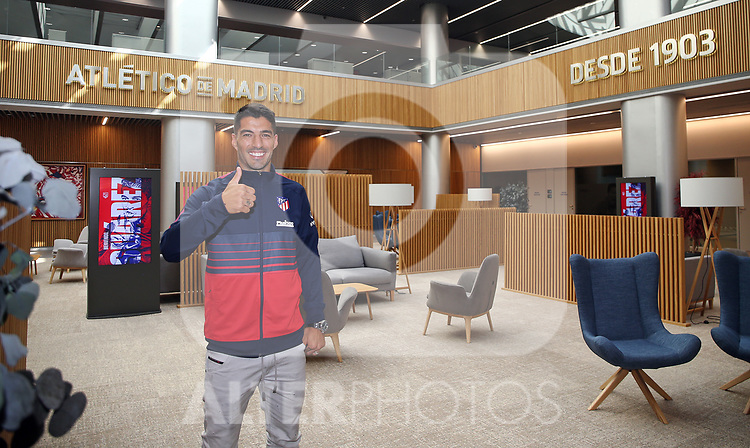 Atletico de Madrid's new player Luis Suarez. September 25,2020.(ALTERPHOTOS/Atletico de Madrid/Pool)