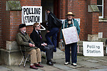 © Joel Goodman - 07973 332324 . 20/11/2014 . Kent , UK . ) . Polling station at Baptists Church Institute on Crow Lane , Rochester on polling day . The Rochester and Strood by-election campaign following the defection of sitting MP Mark Reckless from Conservative to UKIP . Photo credit : Joel Goodman