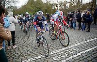 Jonas Van Genechten (BEL/IAM) up the Kruisberg<br /> <br /> 67th Kuurne-Brussels-Kuurne 2015