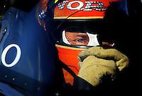 May 29, 2009; Topeka, KS, USA: NHRA top fuel dragster driver Cory McClenathan sits in his car during qualifying for the Summer Nationals at Heartland Park Topeka. Mandatory Credit: Mark J. Rebilas-
