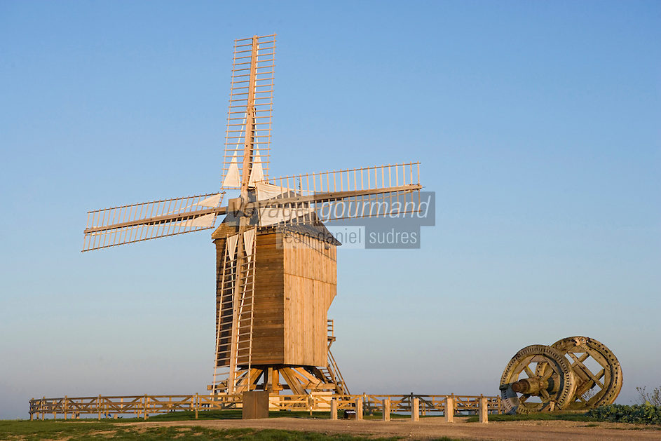 Europe/France/Champagne-Ardenne/Marne/Valmy: le moulin de Valmy