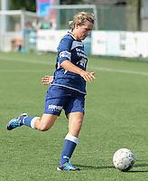 Dames Zulte Waregem - Famkes Merkem :<br /> <br /> Famkes Merkem : Sarah Verschaeve<br /> <br /> foto VDB / BART VANDENBROUCKE