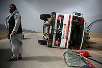 Afghan Trucking Hell by Travis Beard (Afghanistan)